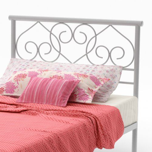 "Amisco Love Metal Headboard/Footboard Only, Twin Size 39"", Dayglam/Textured Silver Grey Amisco http://www.amazon.com/dp/B00AIPZAIY/ref=cm_sw_r_pi_dp_w1i1wb1QJ2837"