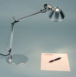 Tolomeo Micro Chrome Porteco Lighting Llc Task Lamps Table Lamp Lighting Artemide Lighting