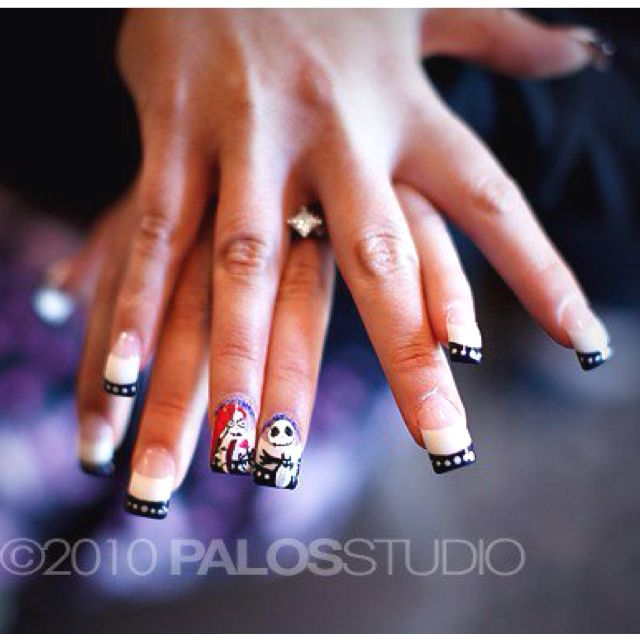 Jack and Sally nails | Beauty Galore: Hair, Make-up, and More ...