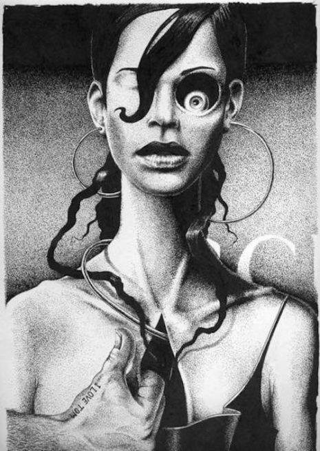 Dmitry Vorsin (b. 1980) Rusia / surrealismo ruso