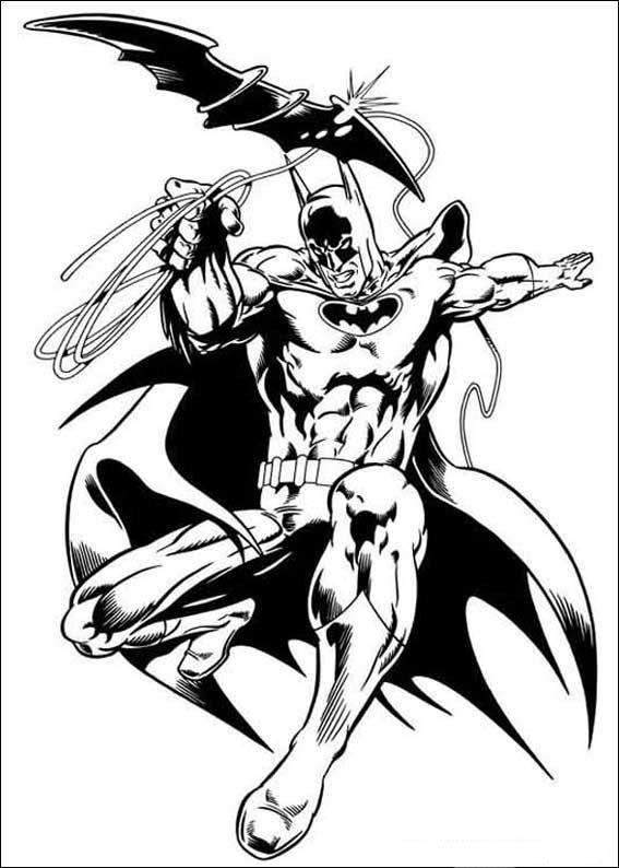 Batman Ausmalbilder 49 | Zeichnen | Pinterest | Batman, 49er und ...