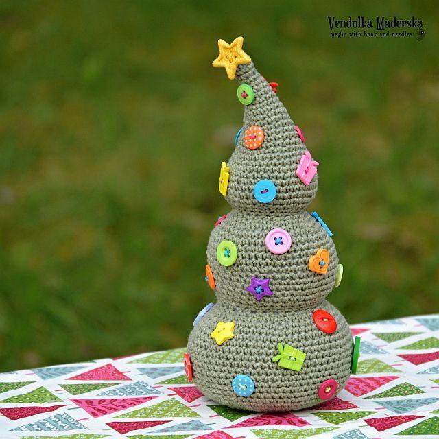 árbol de Navidad Crochet - patrón por VendulkaM