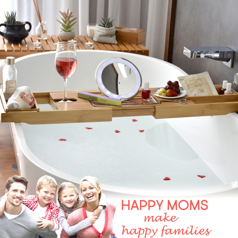 Bathtub Caddy & Laptop Bed Desk | Smart Bath time Ideas | Pinterest ...