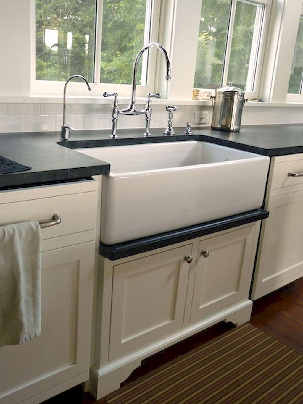 Kitchen Sinks Farmhouse Style 55 best rustic kitchen sink farmhouse style ideas rustic kitchen 55 best rustic kitchen sink farmhouse style ideas workwithnaturefo