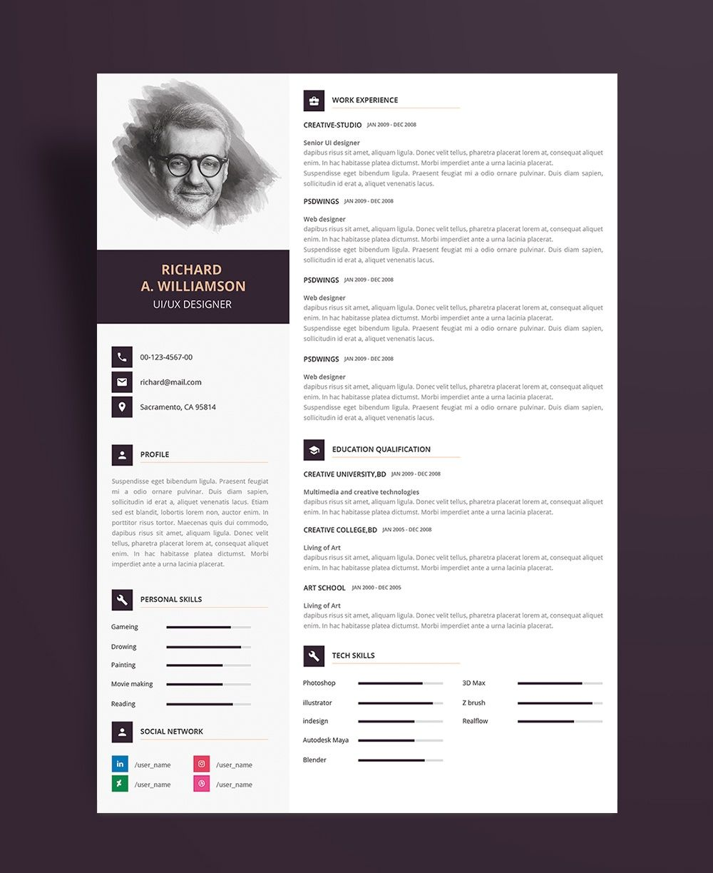 Image result for 2018 resume for designers Critical