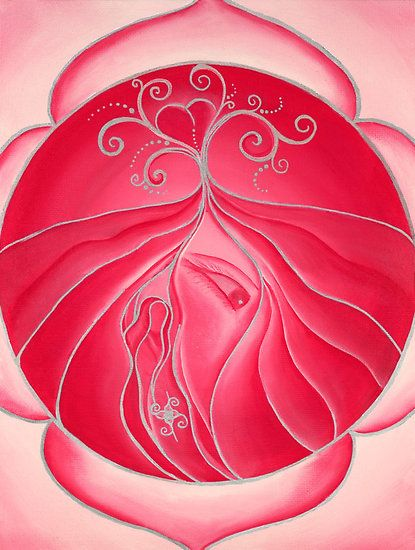 """Root - """"The power and strength of the red energies bring me courage and motivation for what I must do today."""""""