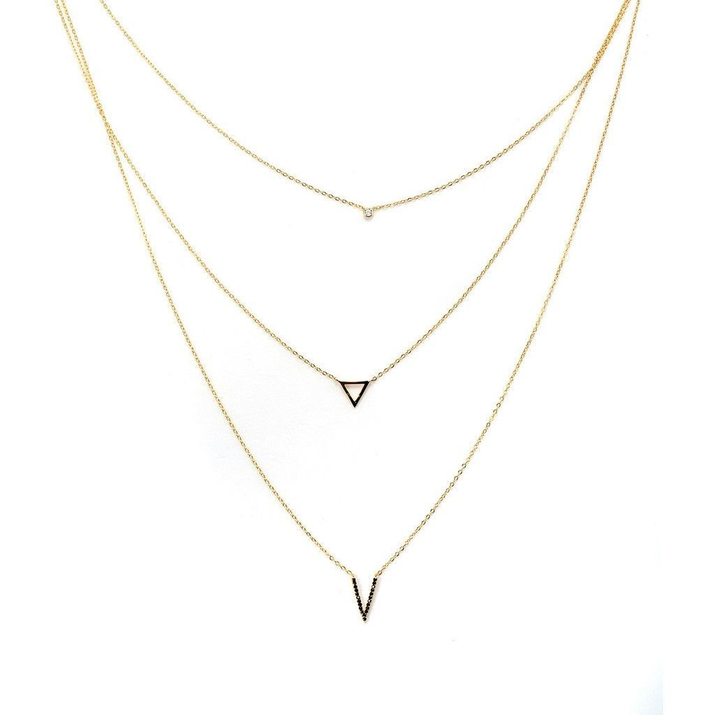 Aesthetic Charms Elite Layered Necklace