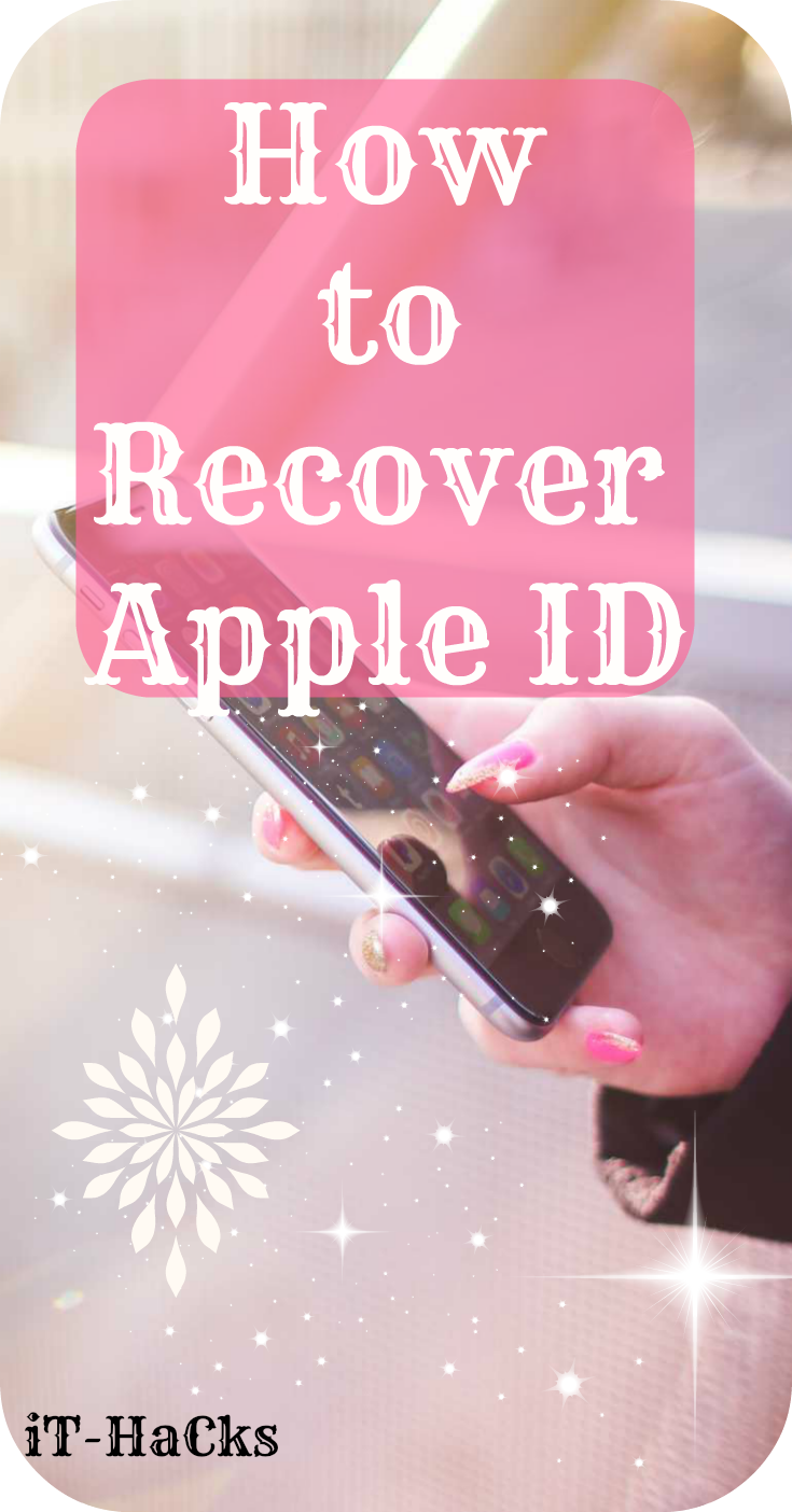 How To Recover Apple Id Hacks Helpful Hints Apple