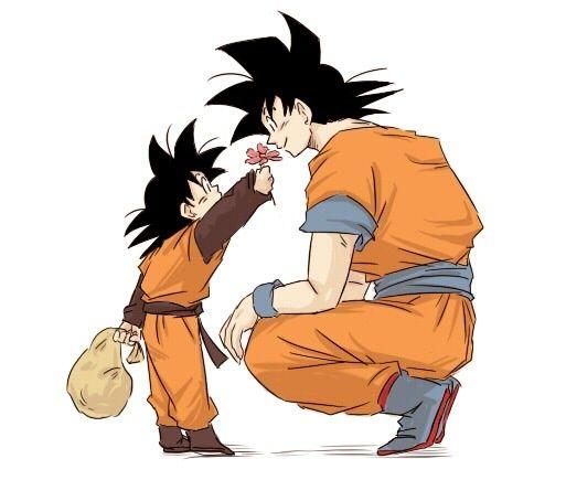 Goten and Goku