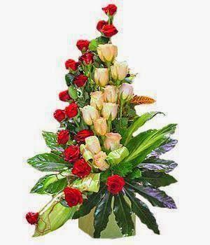Florist Kencana Toko Bunga Bandung Murah Menyediakan Jasa Produksi Dan Pengiriman Tropical Flower Arrangements Flower Arrangements Church Flower Arrangements