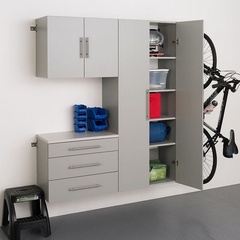 Prepac Hangups B 60 Storage Cabinet 3 Piece Set En 2020 Construire Une Armoire Armoire Rangement Garage Meuble Rangement