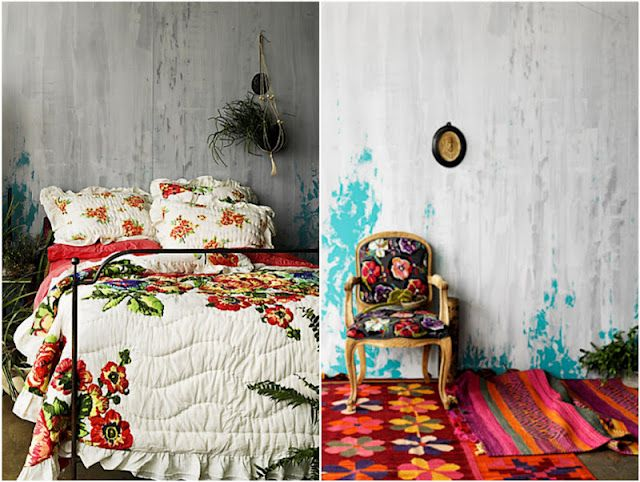 Love The Textiles In This Catalog Image From Anthropologie