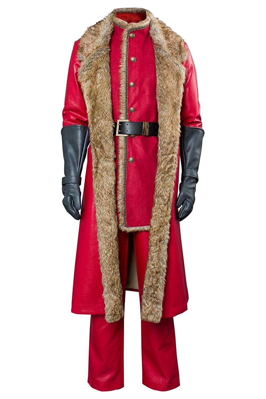 The Christmas Chronicles Santa Claus Leather Coat Santa