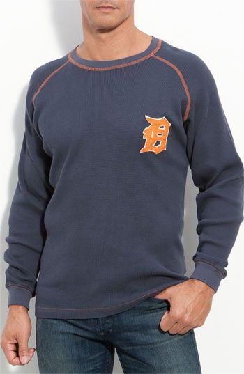Red Jacket Fahrenheit Tigers Thermal T Shirt Nordstrom Detroit Tigers Shirts Red Jacket Long Sleeve Tshirt Men