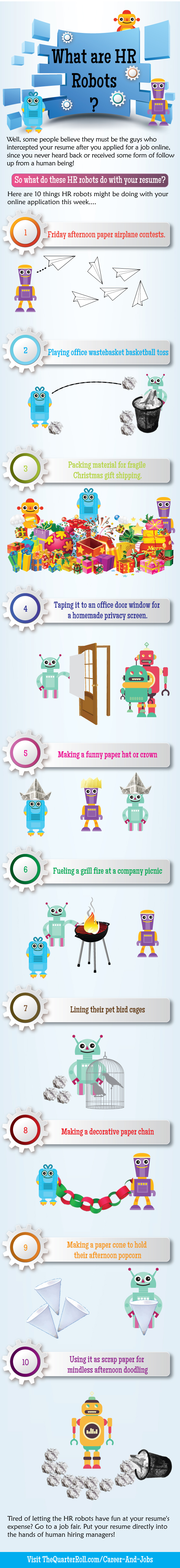 What Are Resume Robots Inforgraphics Pinterest Robot