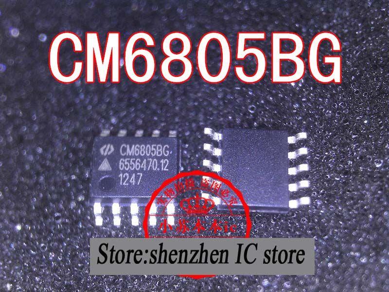 Free shipping 2pcs\/lot CM6805BG SOP-10 laptop chip new original - free sop