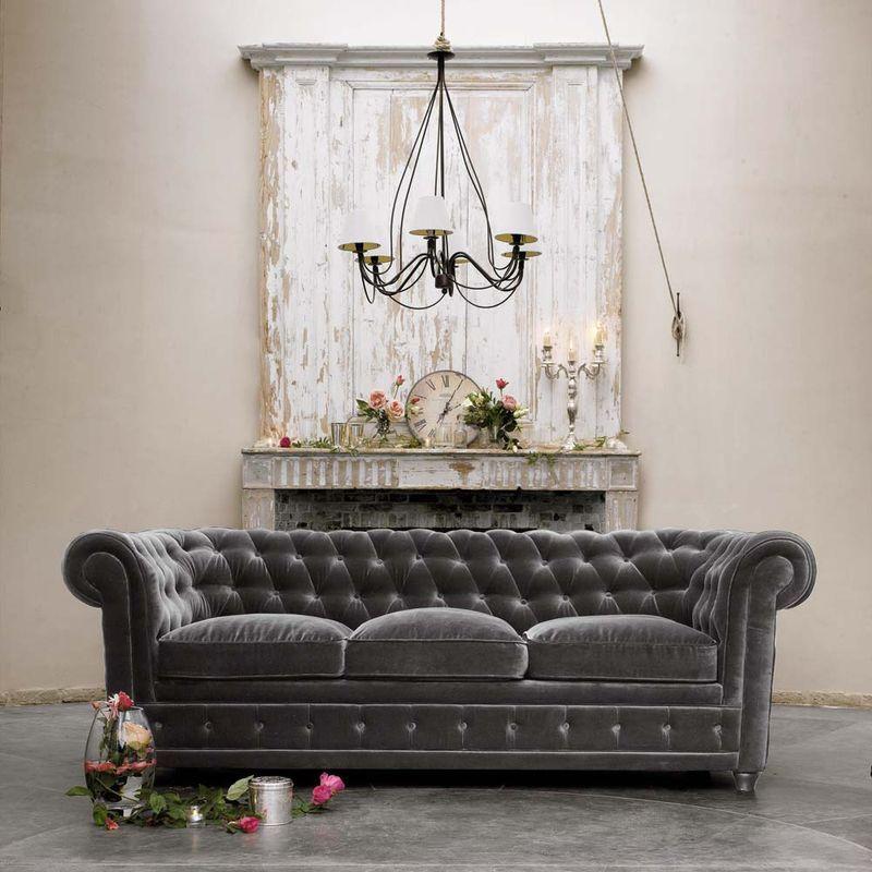 3-seat-grey-velvet-sofa-chesterfield_50180417_4maison du monde