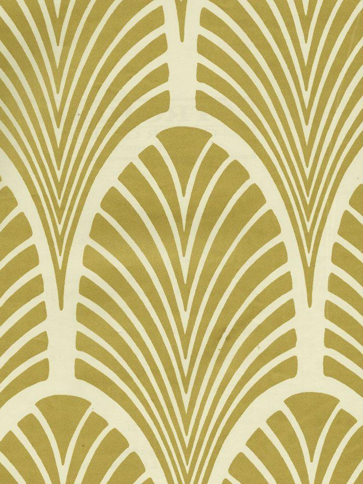 Art Deco Fans Wallpaper STROHEIM COLOR GALLERY PLATINUM