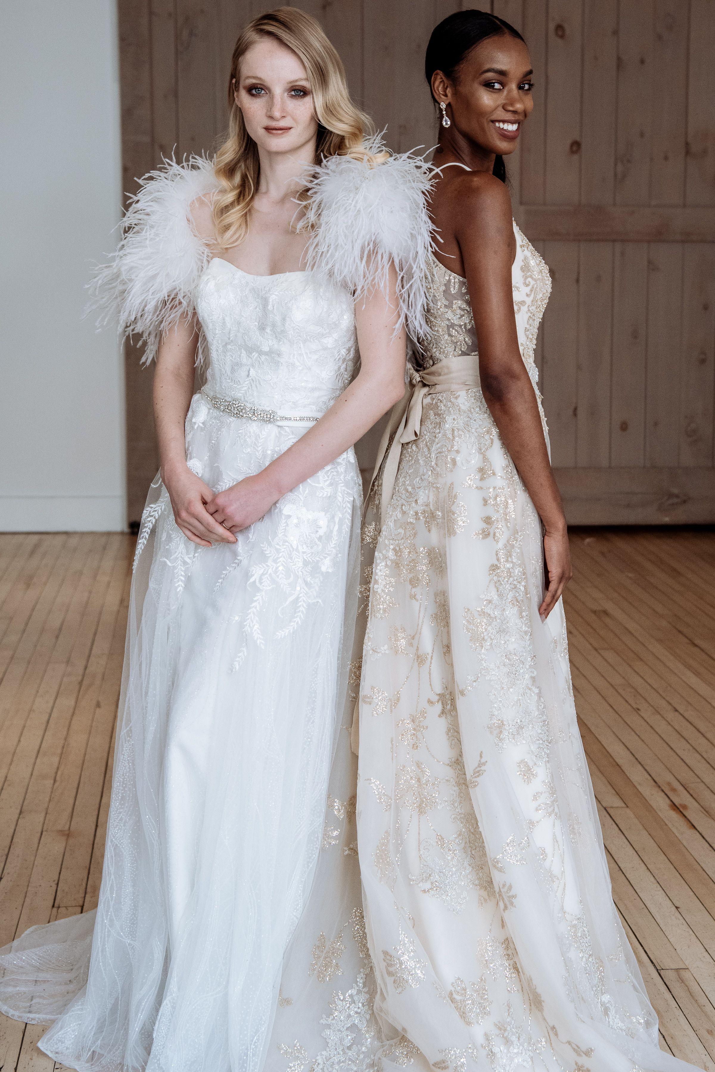 Fall wedding dress trends davidus bridal blog glamorous