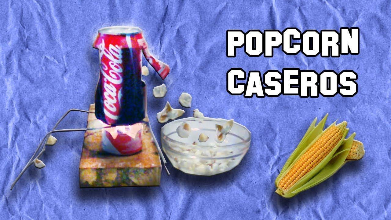 Como hacer una m quina de popcorn o palomitas - Maquina de palomitas casera ...
