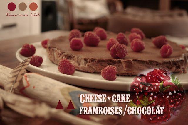 Et Louise est arrivée: Cheese-cake framboises/chocolat