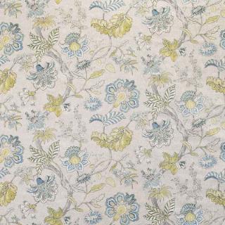 Brackley Lagoon Warwick Fabrics Tropical Blue Brackley