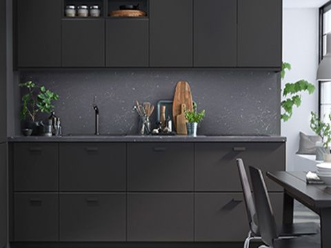 Ordinaire A Complete IKEA Kitchen Using KUNGSBACKA Doors