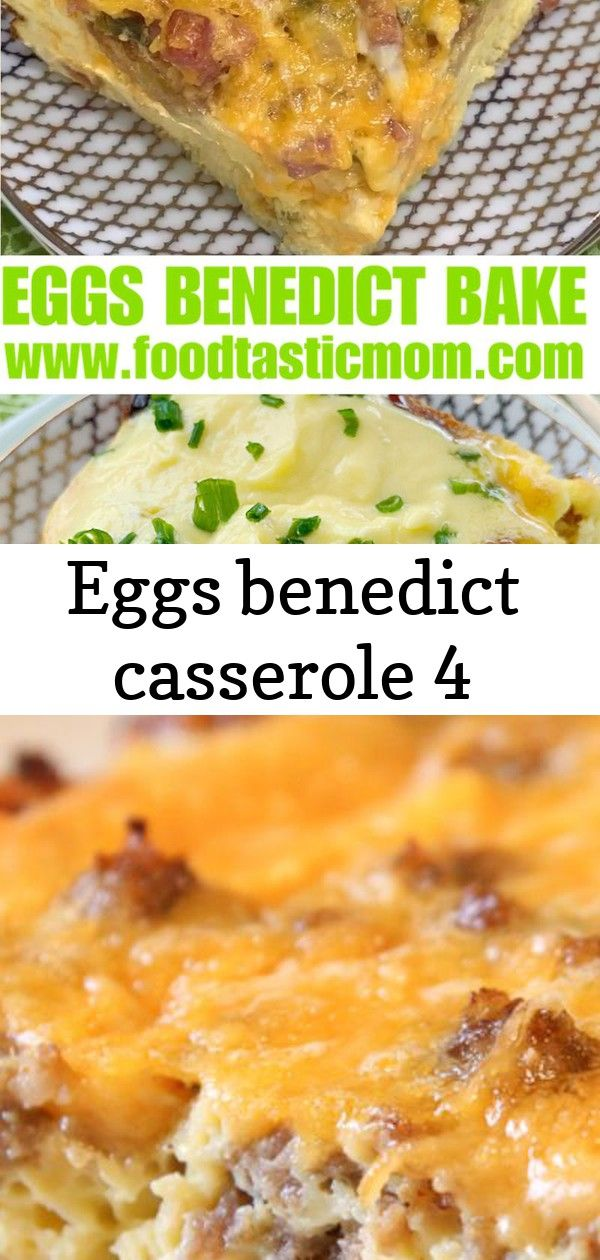 Eggs benedict casserole 4 Turn the delicious yet fussy classic into a stunning breakfast dish for a crowd This easy Sausage Egg Casserole is our favorite breakfast casser...