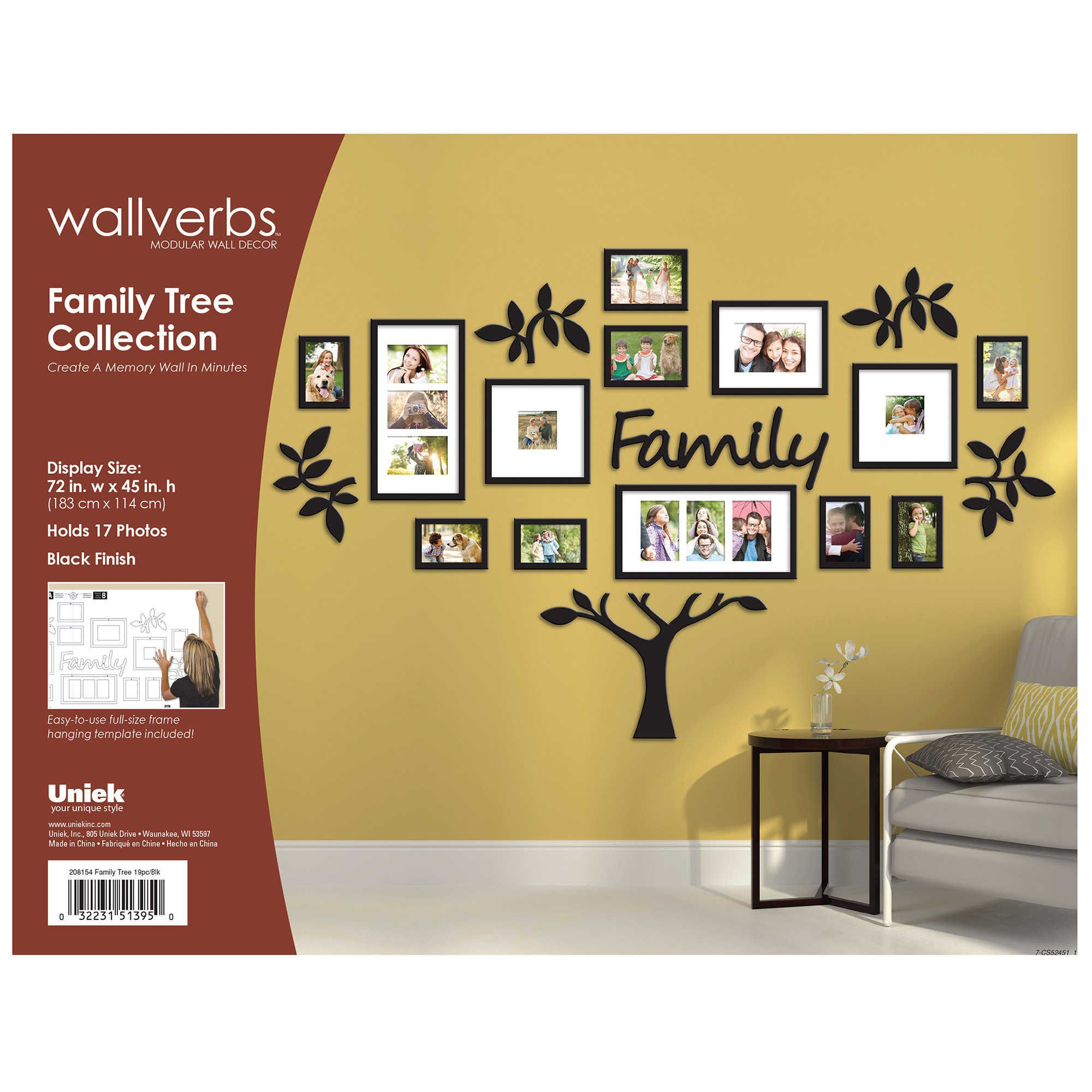 WallVerbs™ 19-Piece | Wall Decor | Pinterest | Family trees, Tree ...