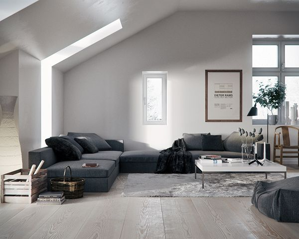 Wohn Inspiration Style : Wohninspiration am donnerstag d grey couches and living rooms