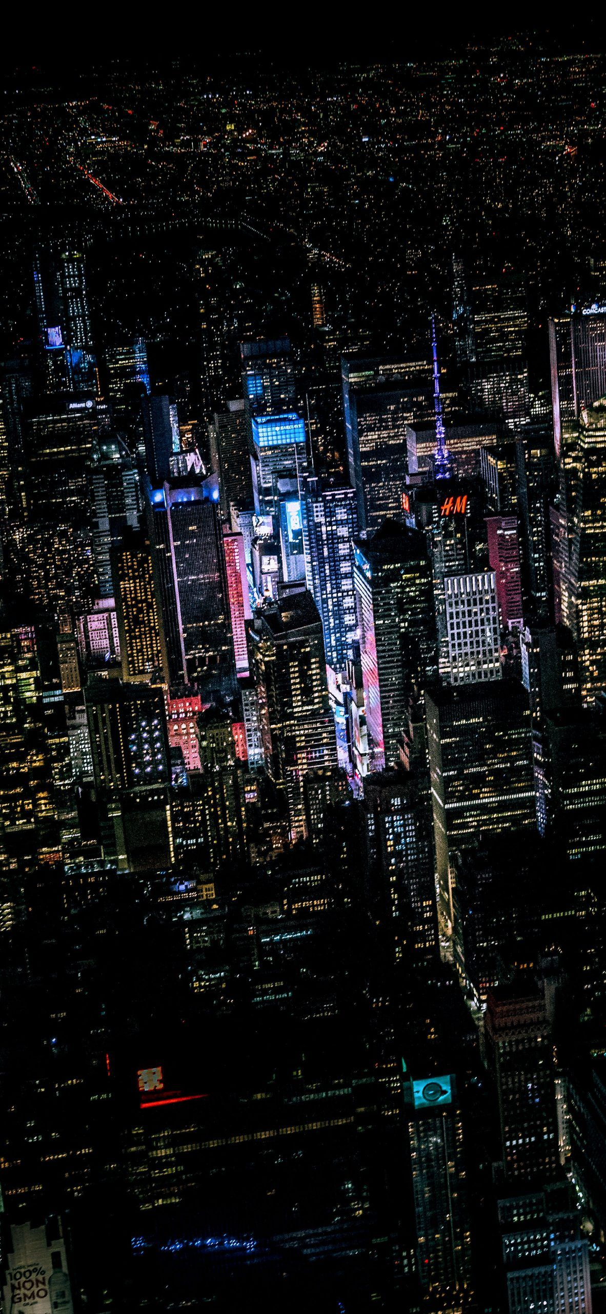 New York City Dark Wallpaper New York Wallpaper