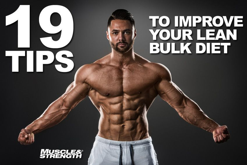 Best Steroid Diet Plan for Bulking & Lean Mass Gains