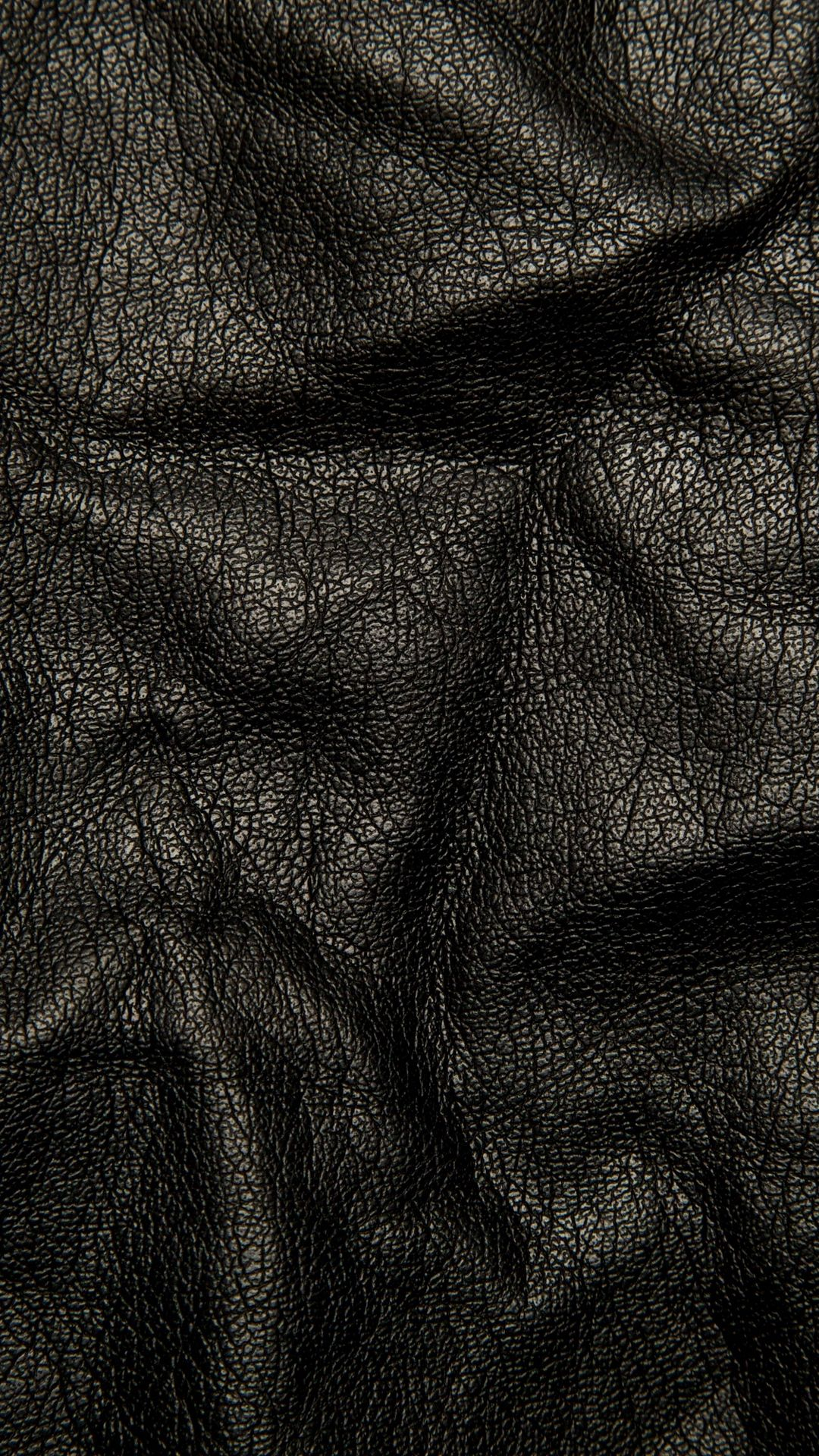 Tap To Download Background Black Leather Textures Wallpaper