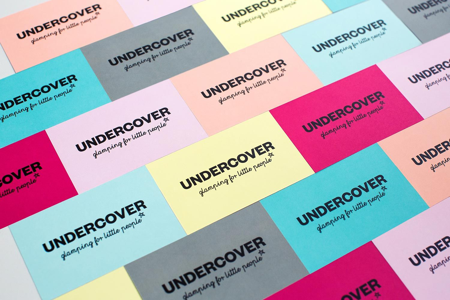 Undercover business cards, Branding and Graphic design. Hannah ...