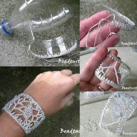 Armband aus plastik Flasche