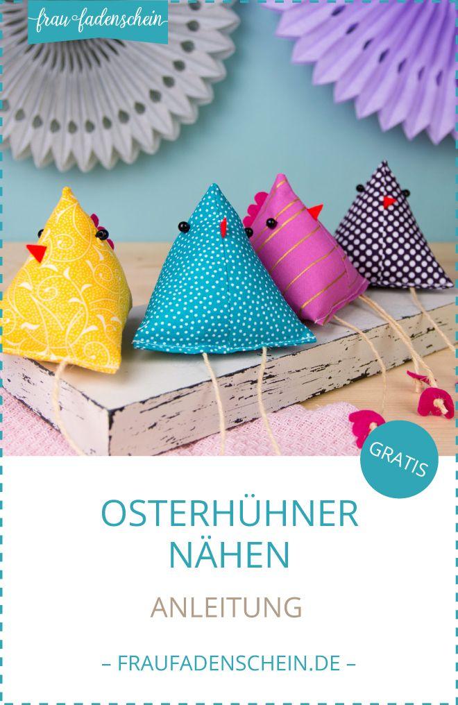Photo of Schnelle Osterhühner | Nähanleitung – Frau Fadenschein