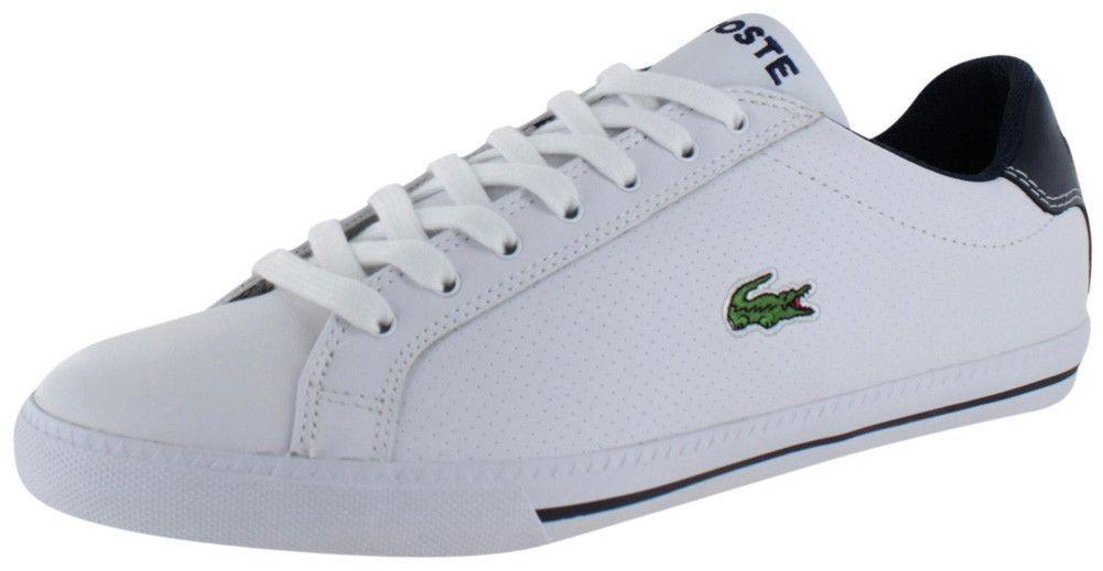 97e5d62d5d46 Lacoste Graduate Low Top Men s Court Sneakers Shoes