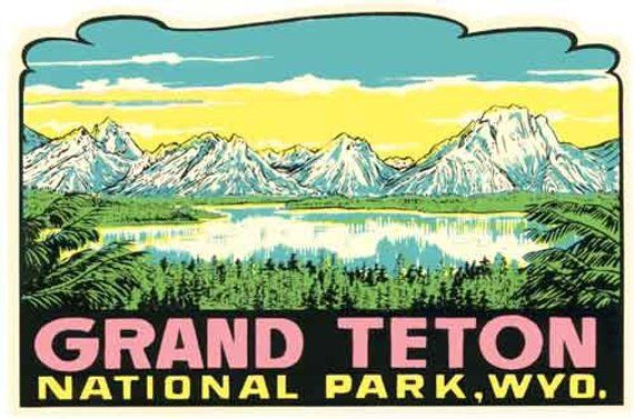 Great Sand Dunes NP Colorado Vintage  1950/'s-Style  Travel Decal  Sticker  Label