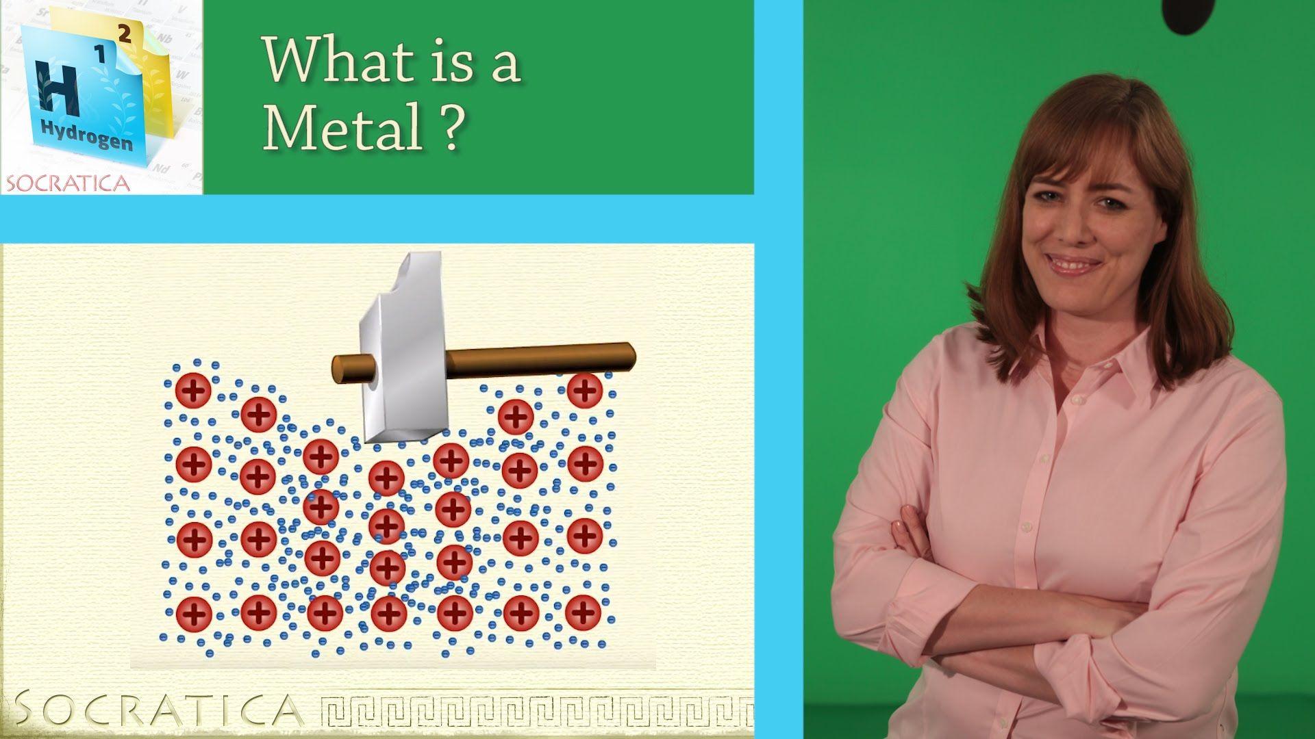 Chemistry What Is A Metal Metallic Bonds