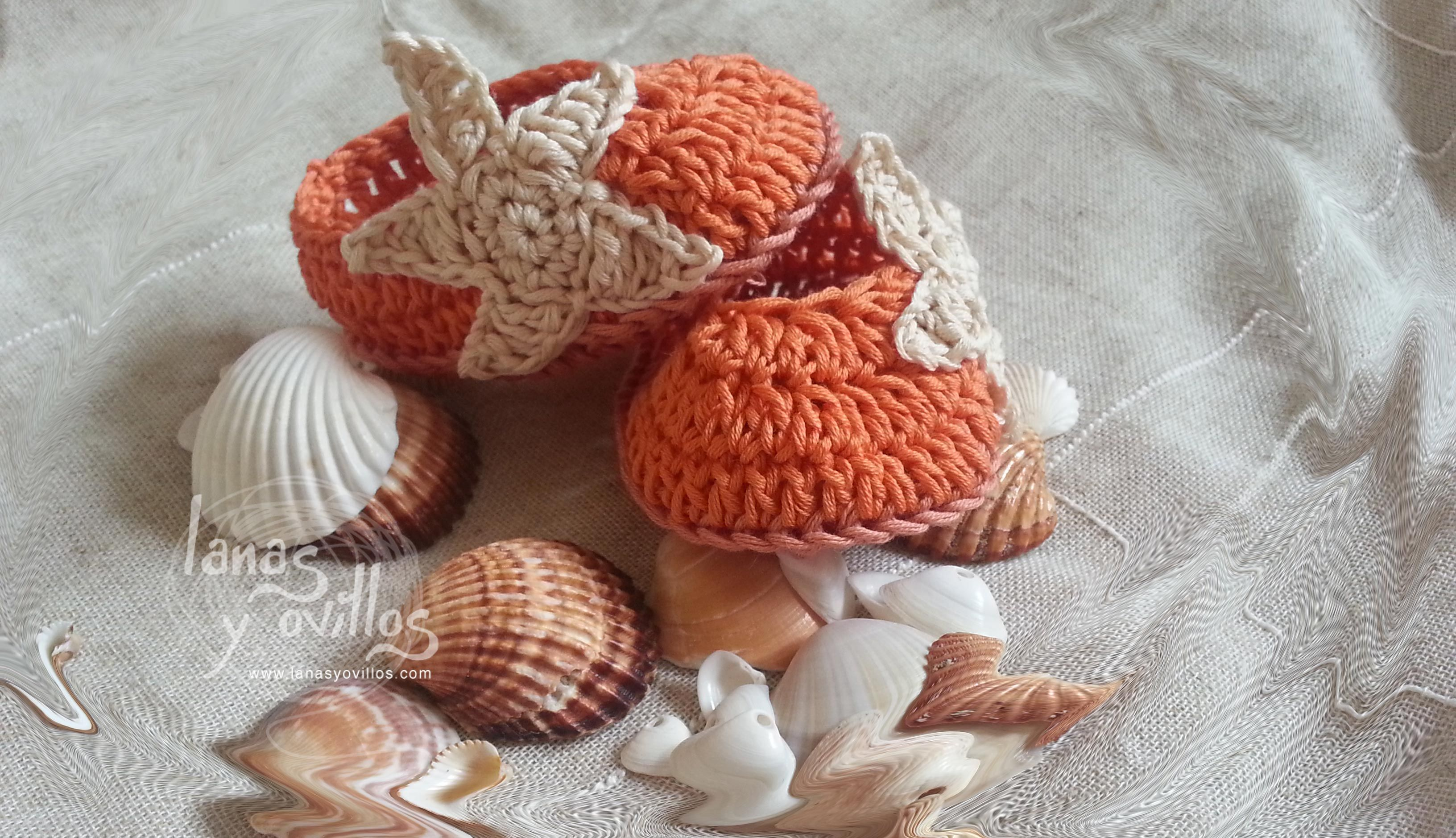 sandalias bebe crochet patron gratis baby booties | Proyectos que ...