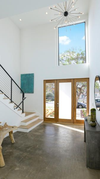 Home Of The Day A Fresh Start On The Westside Open Concept Floor Plans Home Interior Design Home