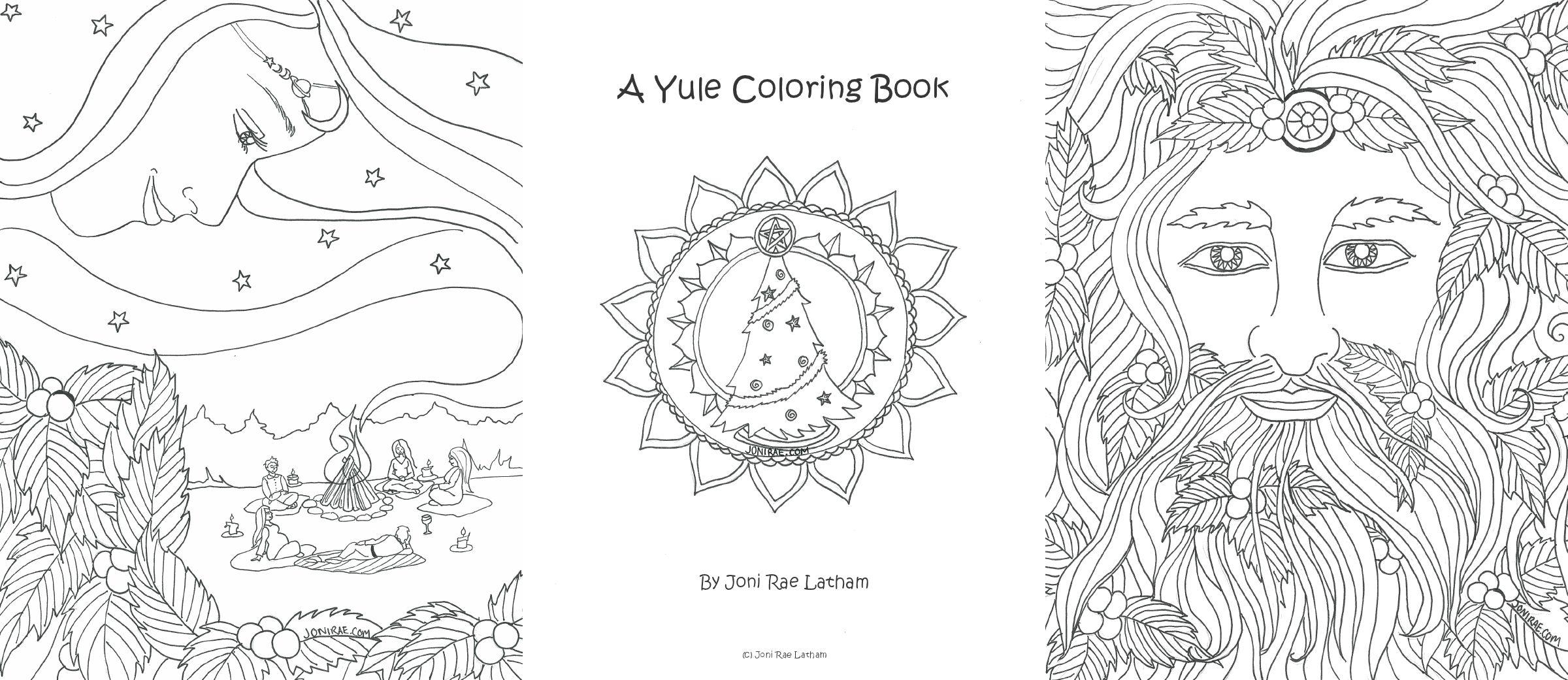Yulecoloringbookbar Jpg 2 400 1 041 Pixels Witch Coloring Pages Coloring Books Coloring Pages