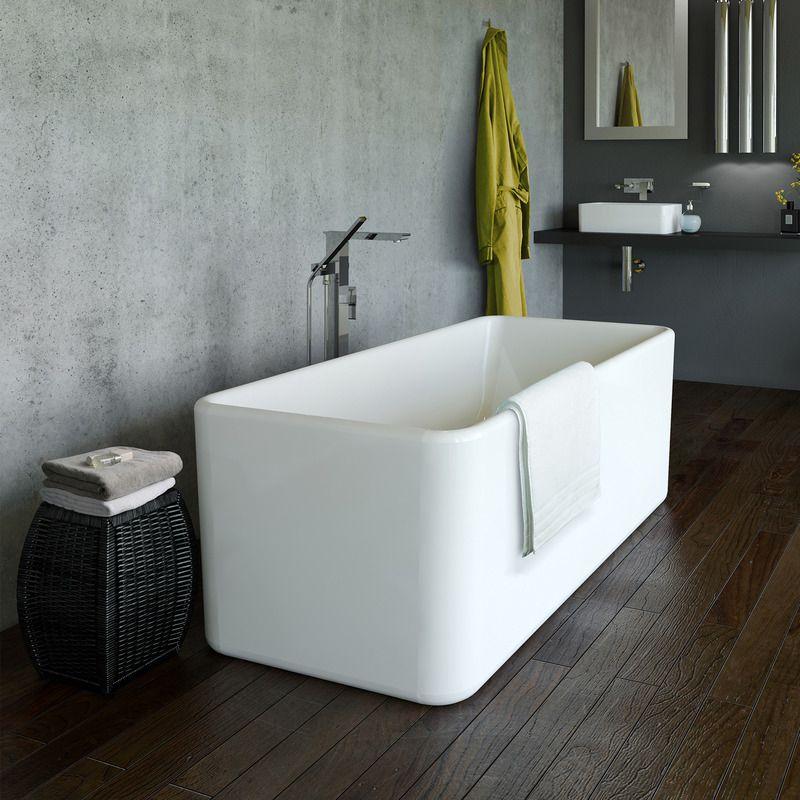 Cube 1600 Freestanding Bath http://www.caroma.com.au/bathrooms/baths ...