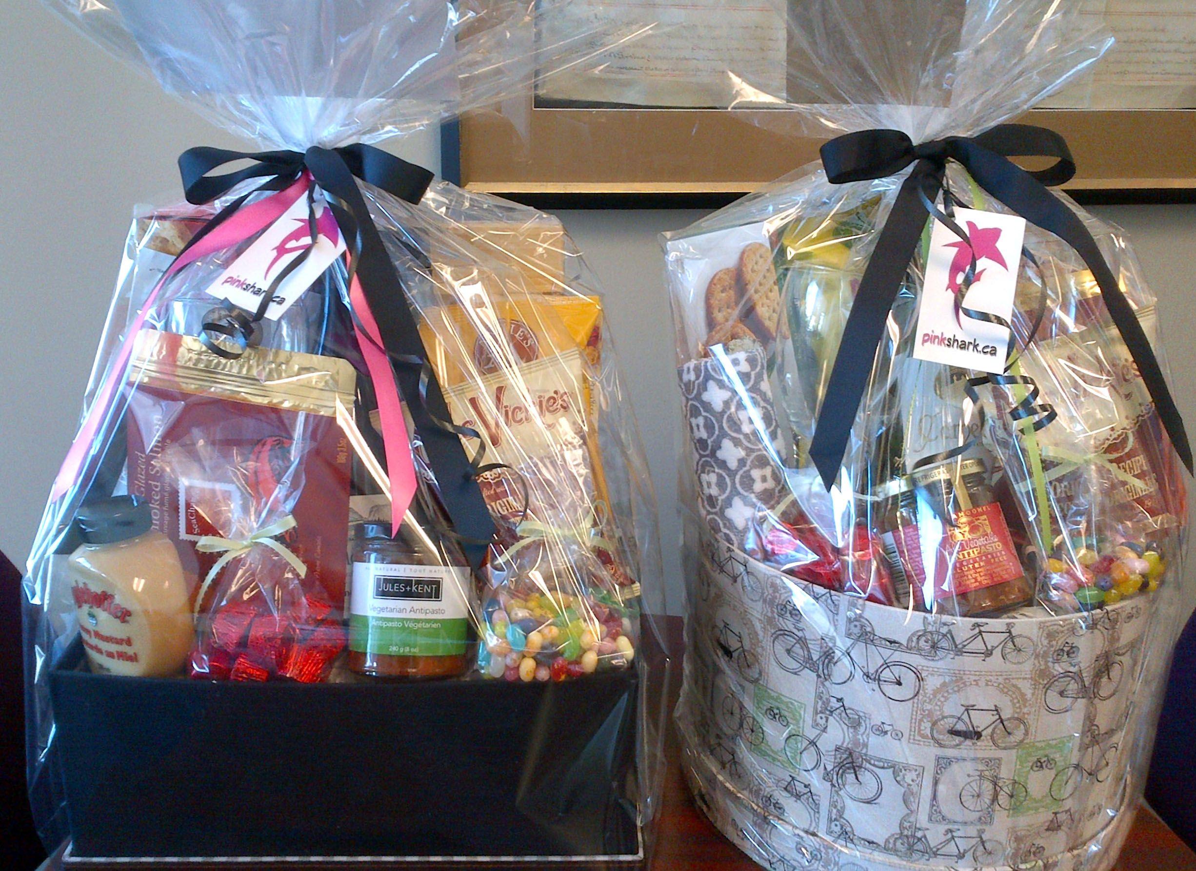 RE/MAX Kelowna client appreciation gift baskets! Real
