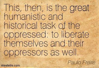 freire pedagogy of the oppressed pdf