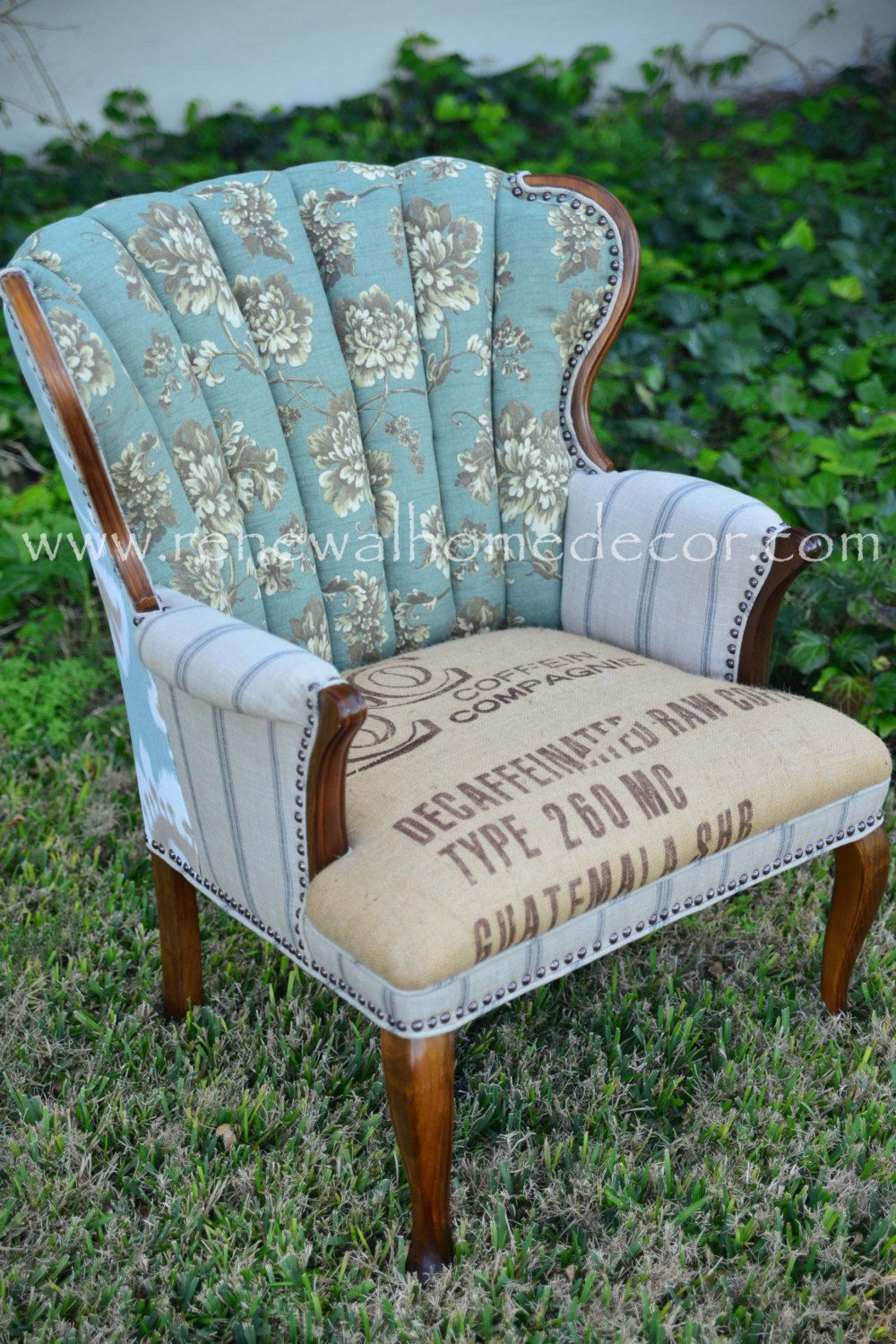 A good chair gone bad reupholster pinterest chair accent