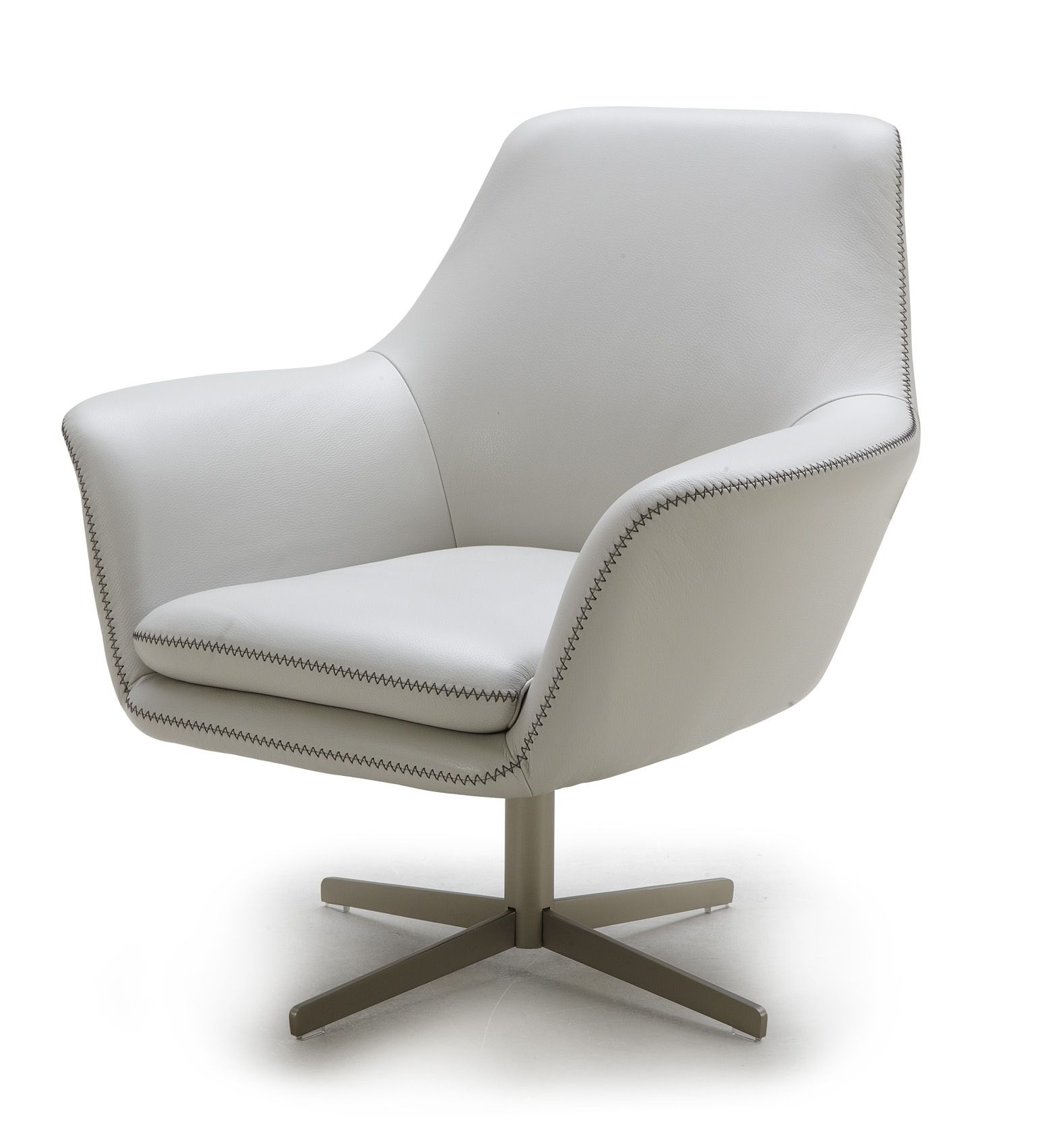 Zara Swivel Chair Slipcover Wingback Leather Lounge Has An Attractive Modern Design That Adapts To Any Space