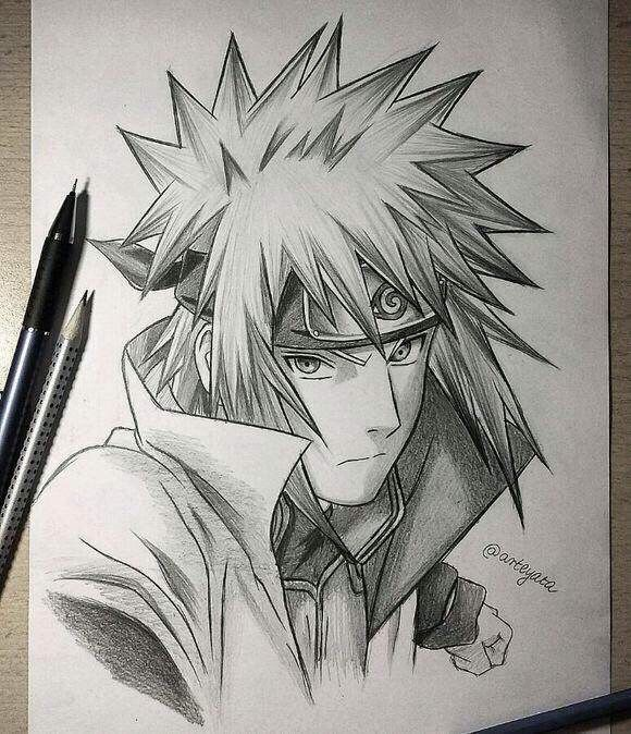 Anime Art Pencil Naruto