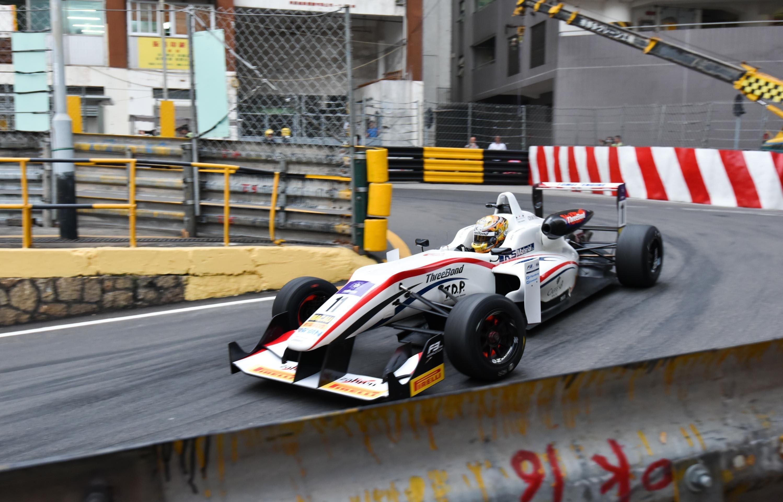 Kenta Yamashita GP Macao 2016 F3