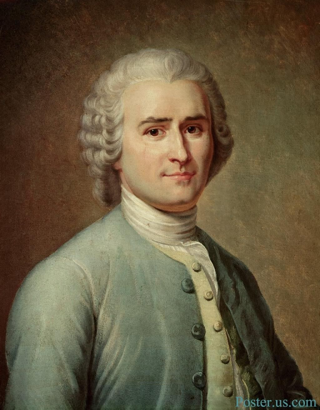 Rousseau Jean Jacques Rousseau Was An Influential Thinker Of The